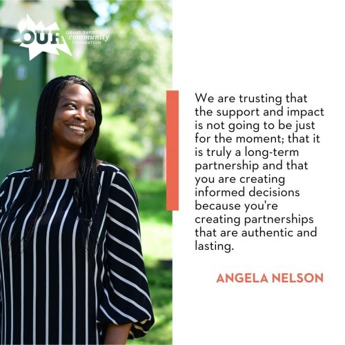 Angela Nelson, More than a Moment